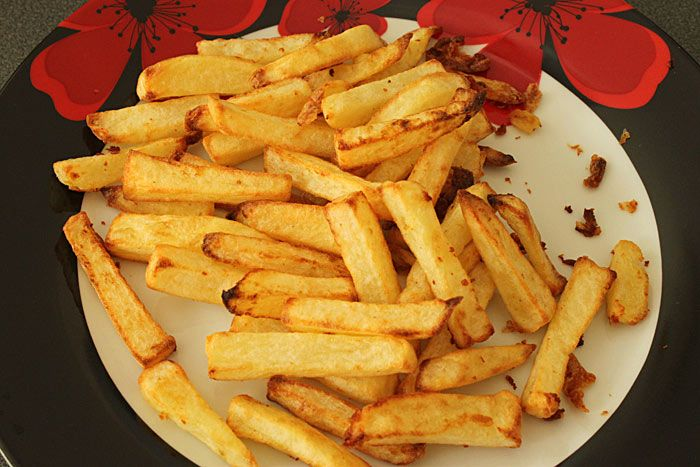 perfect cooked chips health halo fryer