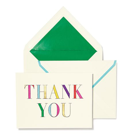 Kate Spade Thank You Notes - Two Friends: