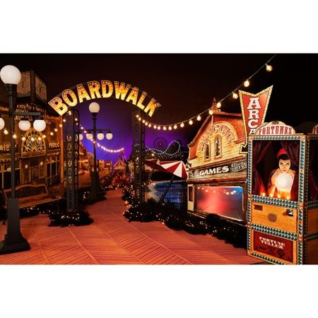 Down On the Boardwalk Theme-Fortune Tellers, Carnival, Arcade, Vintage style theme for prom 2016