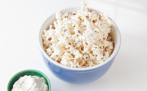 Snack: Epicure's Two-minute Steamer Popcorn (50 calories/serving)