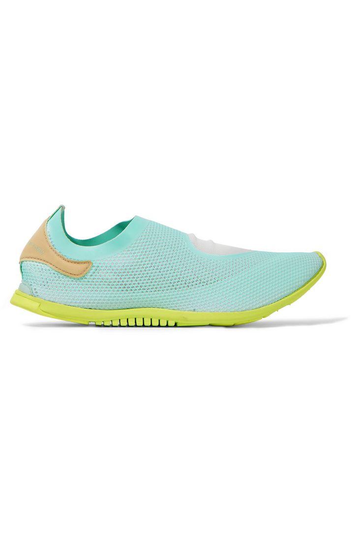 ADIDAS BY STELLA MCCARTNEY Cicinnurus Mesh Sneakers. #adidasbystellamccartney #shoes #sneakers