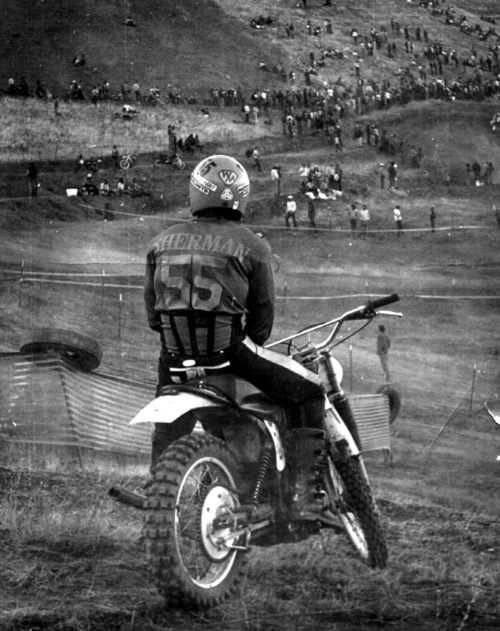 Haven't been on a dirt bike in so many years... Need a man who wants to pull the biker chick out of me again... I miss her
