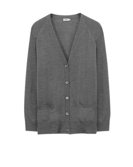 Merino Long Cardi - Knitwear - Woman - Filippa K
