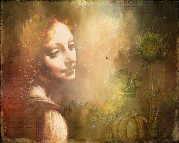 Ceres Goddess Mythical Harvest Autumn by ThePhotoImpression