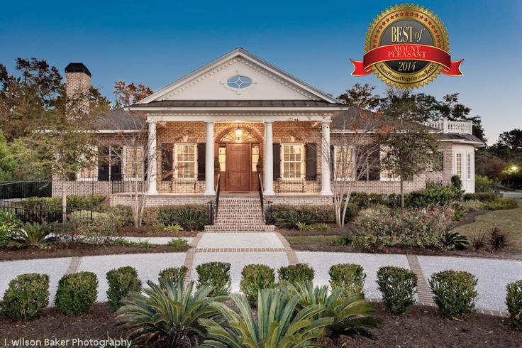 Traditional Custom Brick Home In Charleston Sc This Home
