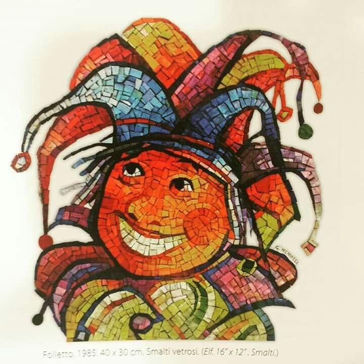 Old...old mosaic... #mosaic_menossi #mosaicodinamico#viazoletti#mozaik#jolly