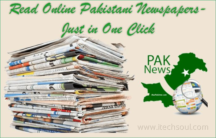 Read Online Pakistani Newspapers-Just in One Click