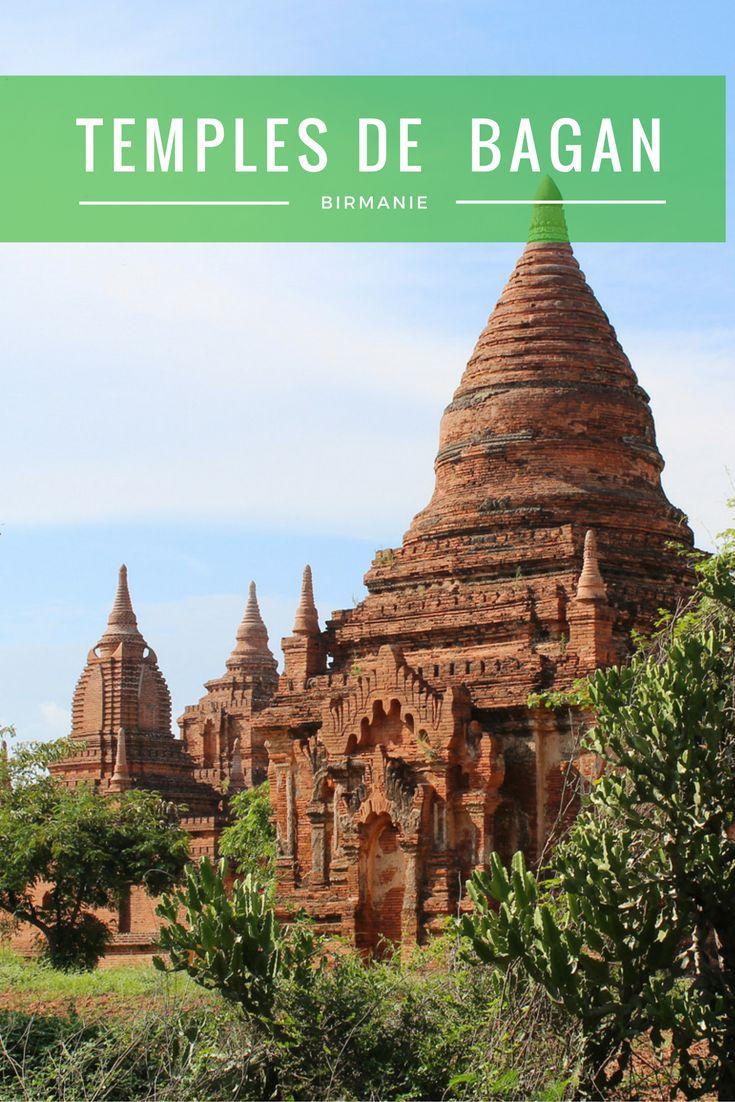 Visiter Bagan en Birmanie et ses milliers de temples et pagodes.