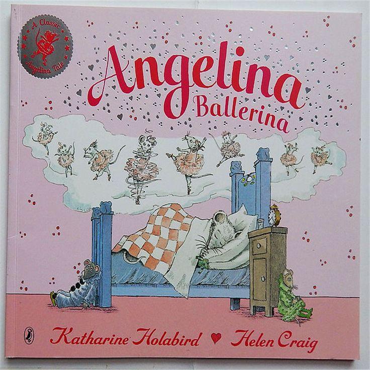 Анджелина Балерина Анжелина и Принцесса дети Английский чтение книг Для детей детские Английский Иллюстрированная Книга для Детейкупить в магазине Book WorldнаAliExpress