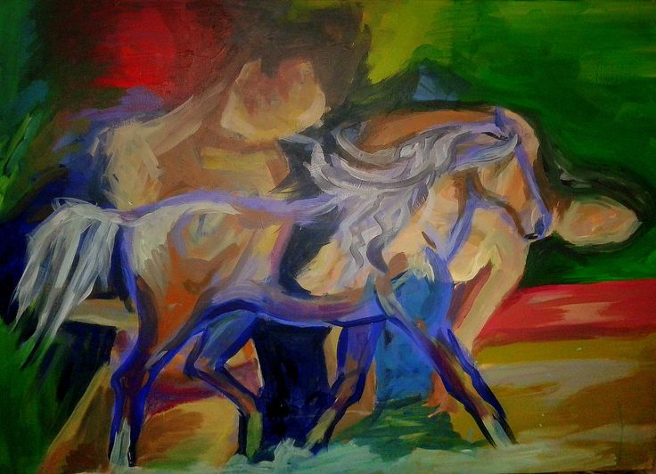 Horse with Two Models