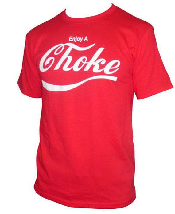 Enjoy A Choke  Etsy listing at https://www.etsy.com/listing/123329754/enjoy-a-choke-brazilian-jiu-jitsu-t