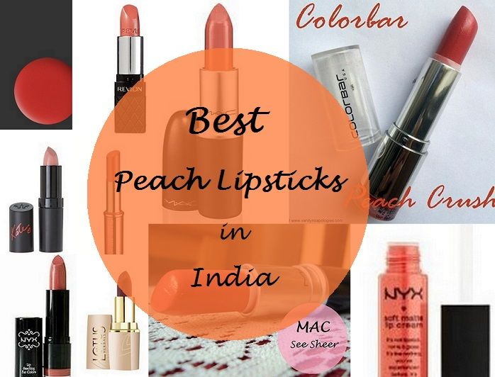 Top Peach Lipsticks for Medium/Dark Indian Skin Tones By Contributor: Karishma Coral/ Peach are such a lovely colour. It's a colour that spel… | Makeup in ...