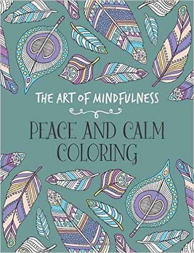 Relieve The Stress Of Back To School With This Peace Calm Adult Coloring Book Add A 5 Pack Chameleon Markers And Let Creativity Begin