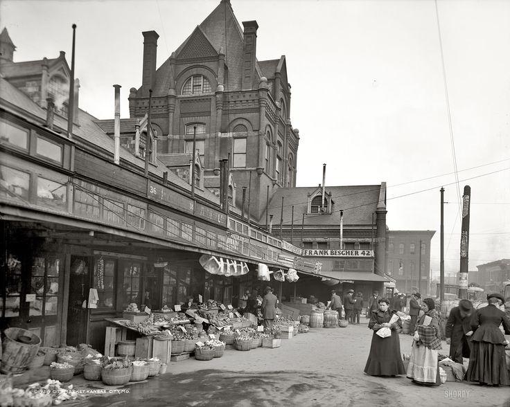 City Market in Kansas City, MO 1906