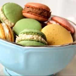 Franse makronen (macarons) @ allrecipes.nl