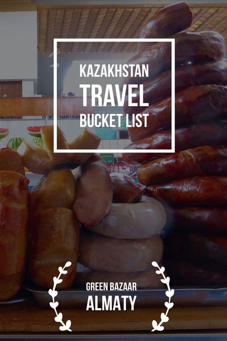 Green Bazaar Almaty. Kazakhstan Travel Bucket List: Explore Central Asia with Kalpak Travel