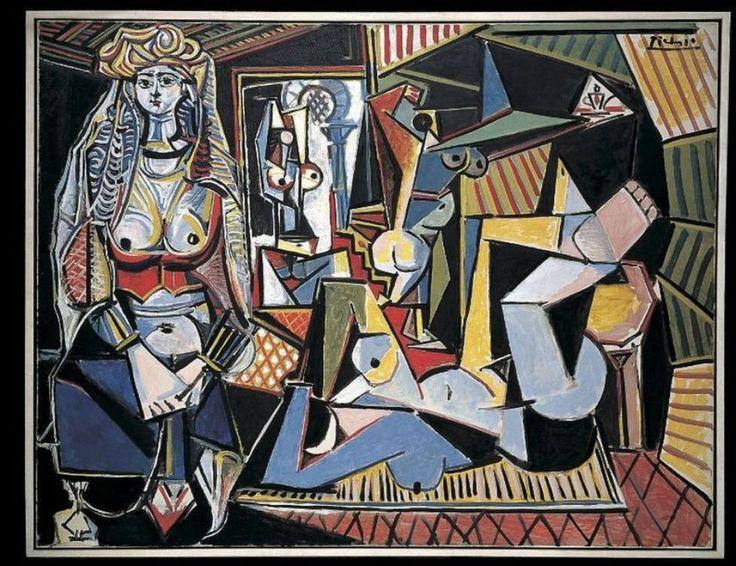 Pablo Picasso.  les femmes d' Alger, 1955.