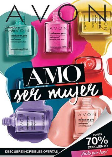 Descubrí todos los productos de Avon en el Folleto y solicitáselos a tu Revendedora. ¡Descargá tu Folleto para Smartphones y Tablets!