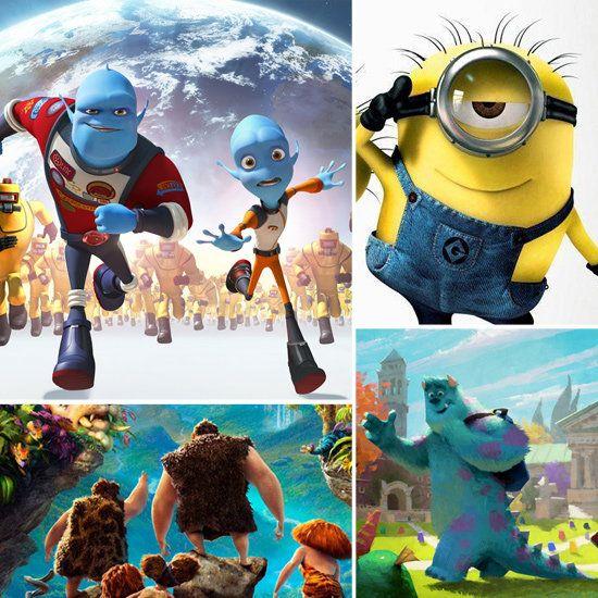 Animated childrens movie