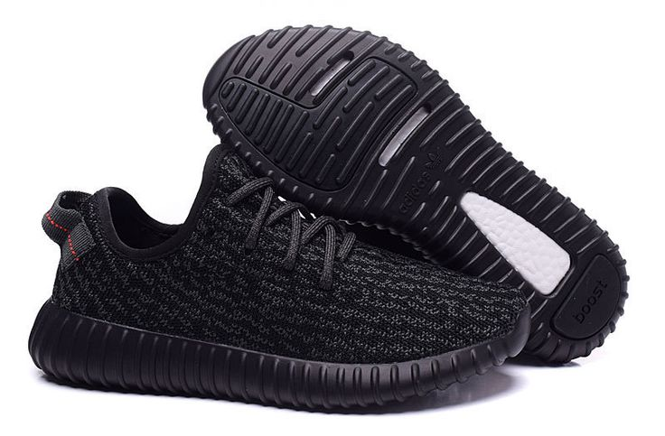 2016 Adidas Yeezy Boost 350 Women Running Shoes all black