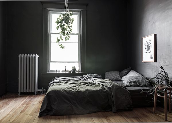 25 best ideas about dark grey bedrooms on pinterest 11756 | 13c4c01a9e1e326c522e54bc5bfb990c