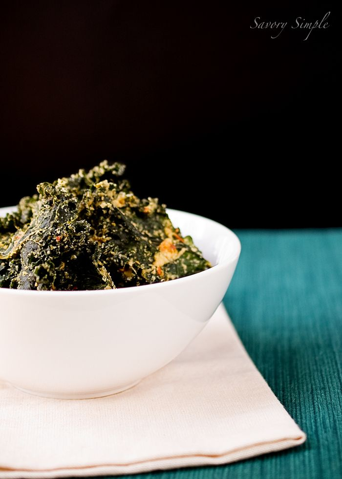 Spicy Tahini Kale Chips- These are without a doubt the best kale chips you will ever try. Make them at home and try not to eat them all up at once!