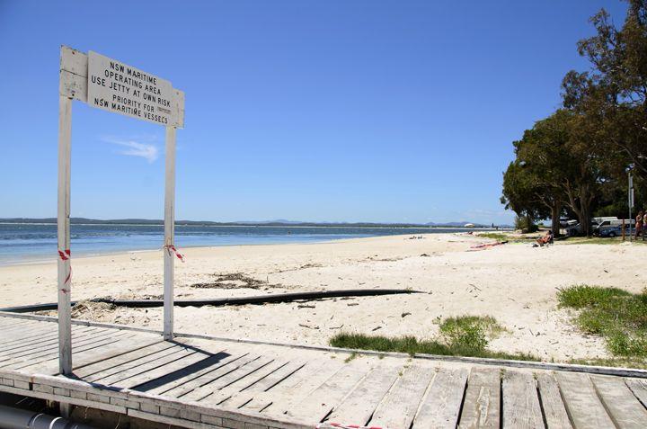 Little Beach, Nelson Bay, Port Stephens #littlebeach #portstephens