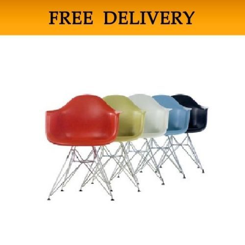 PREMIUM VERSION Charles Eames Eiffel Retro Dining Chair Chairs Modern Armchair…