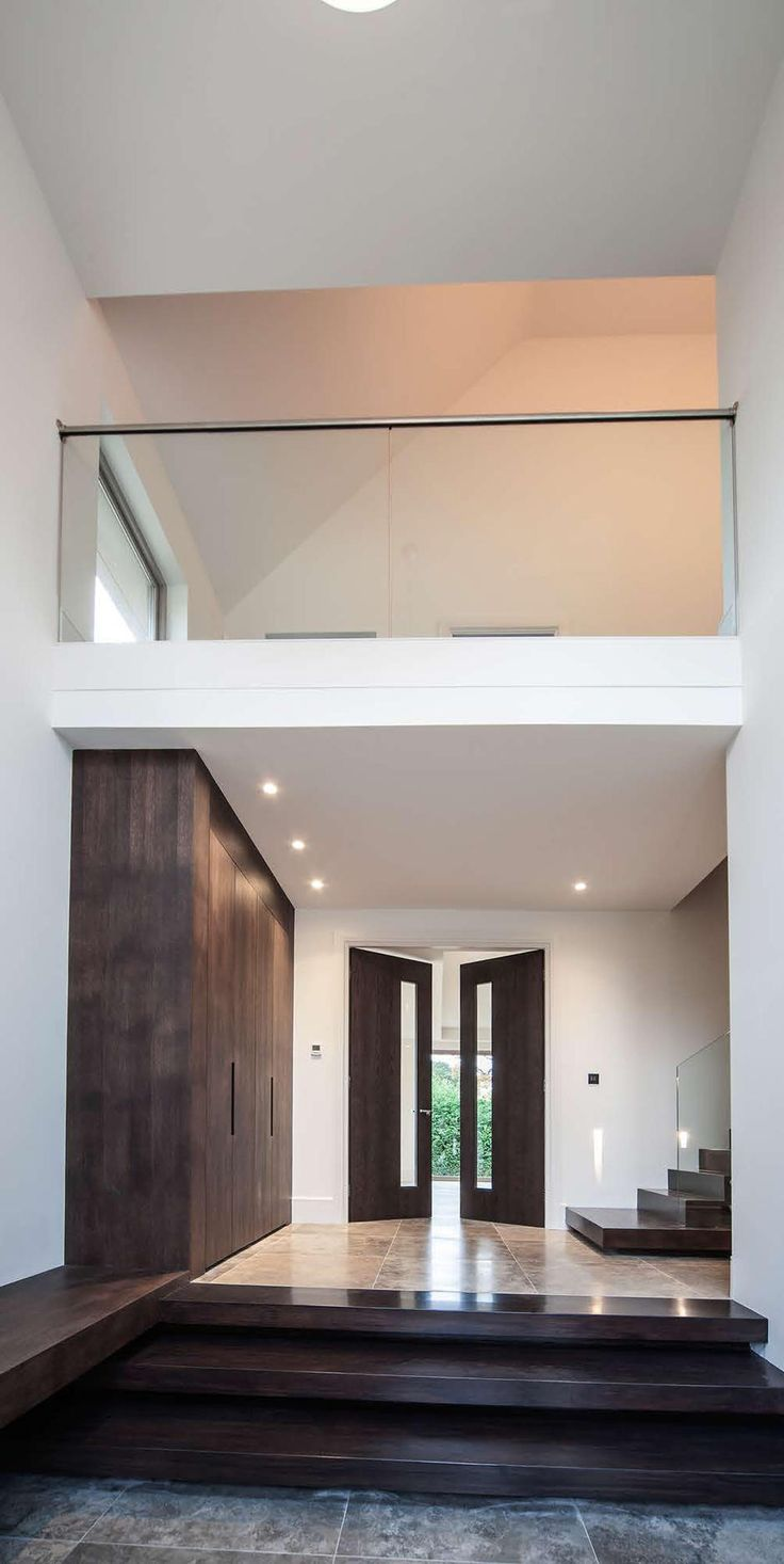 The Orchard Double Height Entrance Hall Modern Foyer