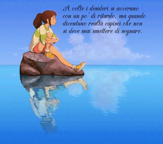 A volte i desideri si avverano con un po' di ritardo, ma quando diventano realtà capisci che non si deve mai smettere di sognare.
