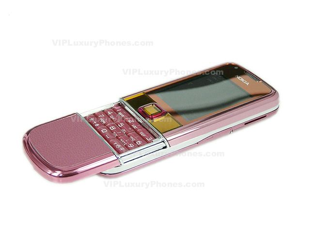 NOKIA 8800E-1 Sirocco Pink Leather Cell phone
