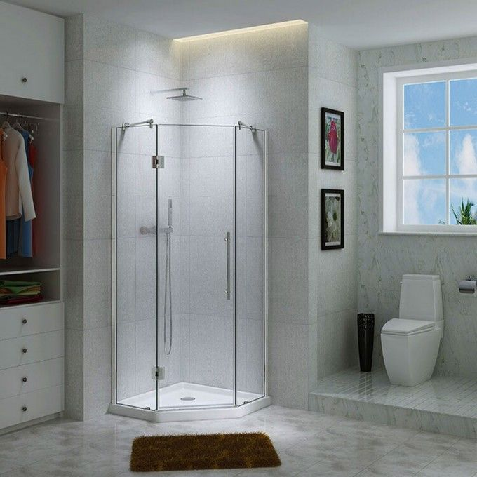 Best 25 Corner shower enclosures ideas on Pinterest Corner