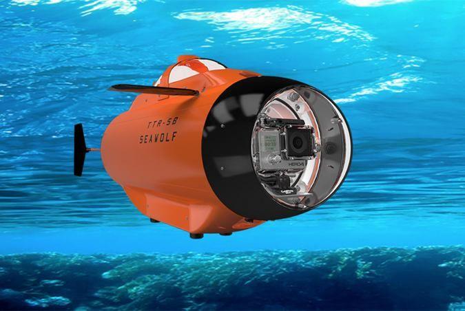 Seawolf GoPro RC Submarine For Underwater Video Recording