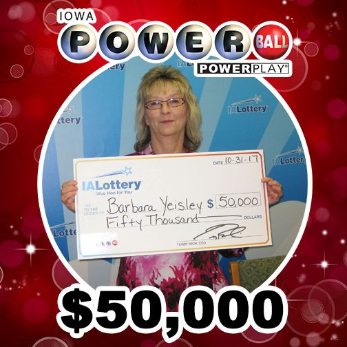 Barbara Yeisley of #CentralCity was cleaning out her purse last week and found several old lottery tickets. And when she had those tickets checked, she discovered that a #Powerball ticket she had from the May 27 drawing won $50,000! She jokingly said she'll check her lottery tickets a little more frequently now. Congratulations, Barbara! She bought her winning ticket at Hy-Vee, 3600 Business Hwy. 151 in #Marion. #WooHooForYou