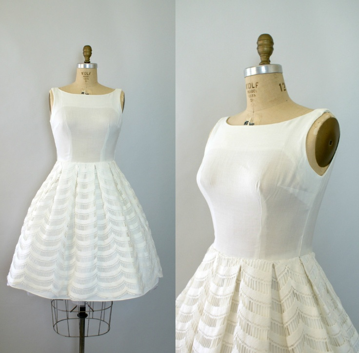 143 best 1960s wedding dresses images on Pinterest | 1960s wedding ...