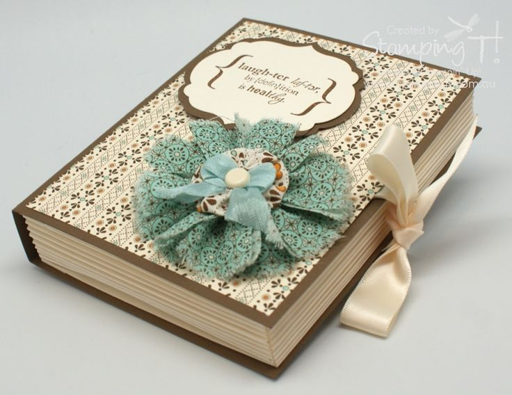 Stampin' Up! Stamping T! - Faux Book by Tanya Bell