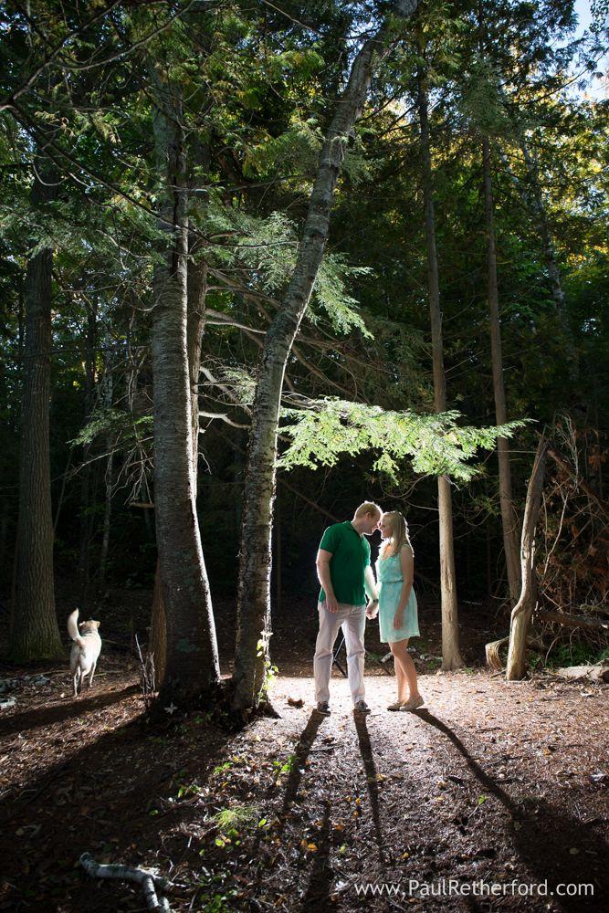 Charlevoix Northern Michigan Fall Engagement Photography Lake Michigan   Amber + Joe photo