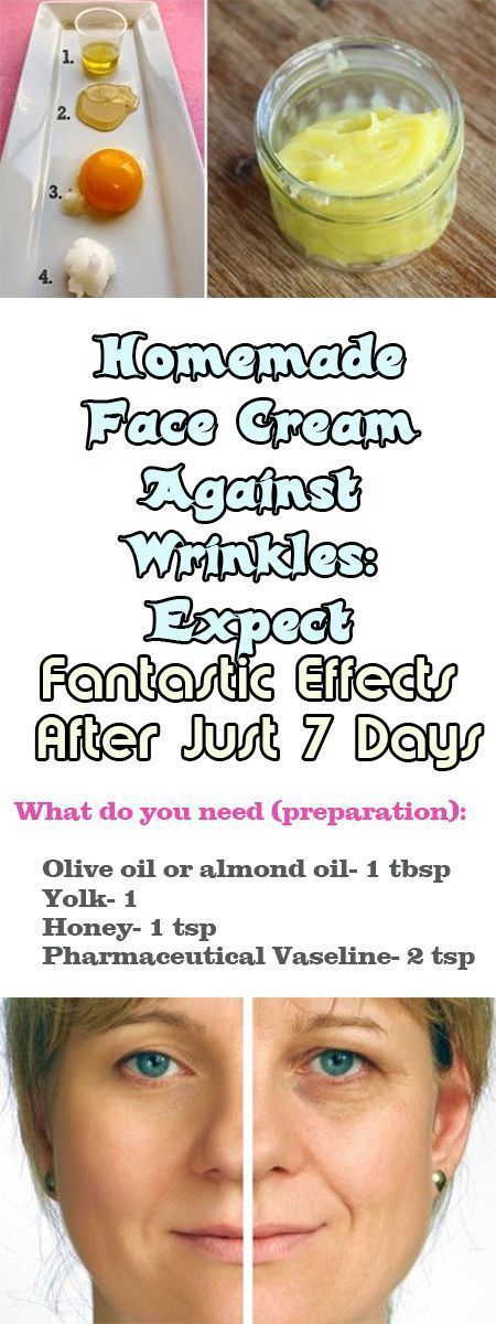 Homemade Face Cream Against Wrinkles: Expect Fantastic Effects After Just 7 Days #facecreamshomemade #homemadewrinklecreamsbeauty