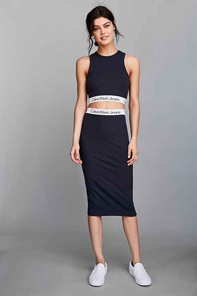 Calvin Klein For UO Set Tube Skirt