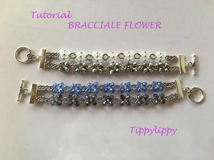 TUTORIAL BRACCIALE FLOWER