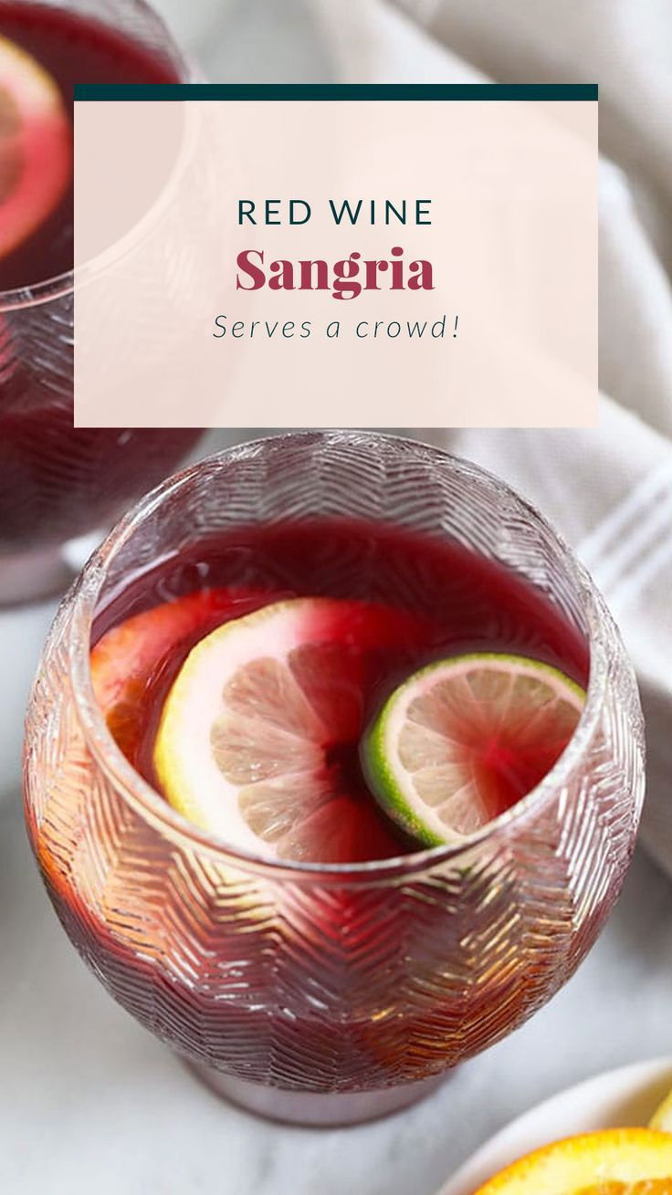 Easy Red Wine Sangria Recipe Fit Foodie Finds In 2020 Easy Sangria Recipes Sangria Recipes Red Wine Sangria