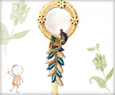 Lumba Rakhi - Send Online #Lumba #Rakhi – online rakh. Exclusive Unique and Beautiful Peacock Lumba, surprise  your loved ones with roli chawal, chocolates and a greeting card as it is also a part of our package and that too without any extra charges. http://www.bablarakhi.com/