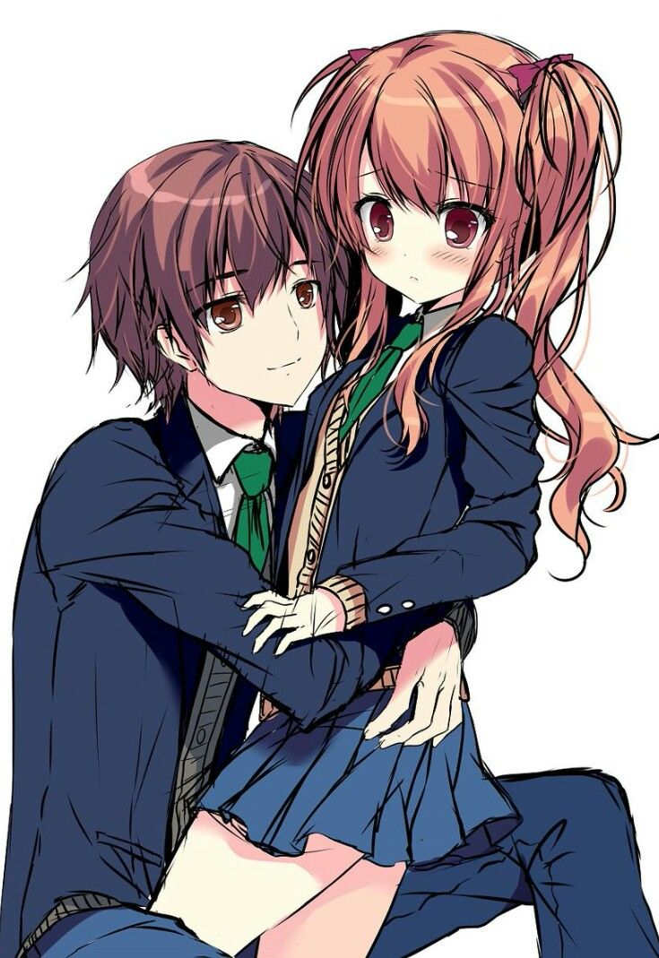 712 best anime couple images on pinterest anime - Cute anime couple pictures ...