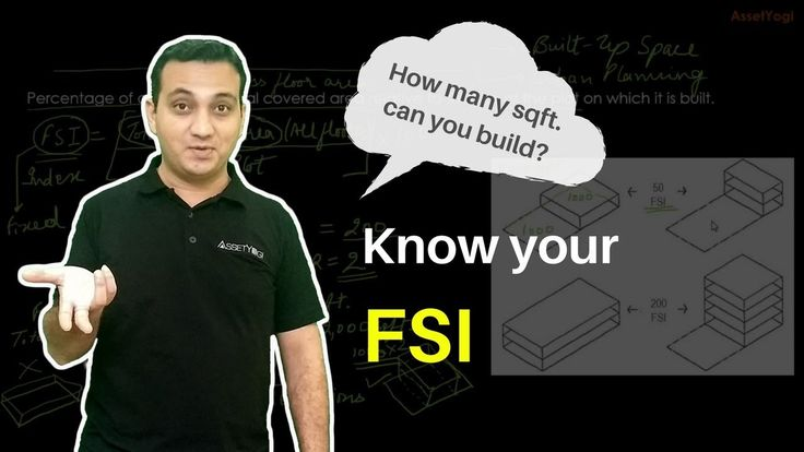 Floor Space Index (FSI) - Calculation, Formula, Concept and Example        Do you know the FSI of your city?   Here we have explained what is Floor Space Index (FSI) and the calculation formula for FSI. Get all the major queries about FSI answered with this video.    #RealEstate #FloorSpaceIndex #AssetYogi  https://www.youtube.com/watch?v=5udNBArAO54