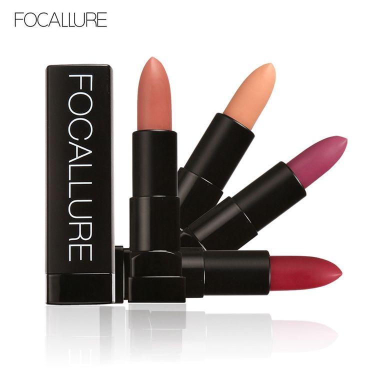 FOCALLURE 12 Hot Matte Colors Lipstick Long Lasting Waterproof Matte Lip Stick Matte Lip Makeup Lip Gloss Makeup -- Prover'te etot udivitel'nyy produkt, pereydya po ssylke na izobrazheniye.