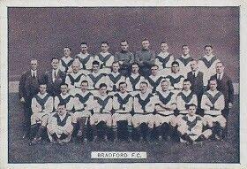 Bradford City team group in 1923-24.