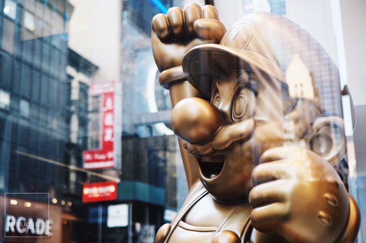 Super Mario bros nintendo world store New York