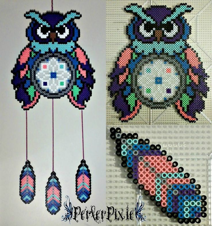 237 best images about fuse beads dream catchers on for Dreamcatcher beads meaning