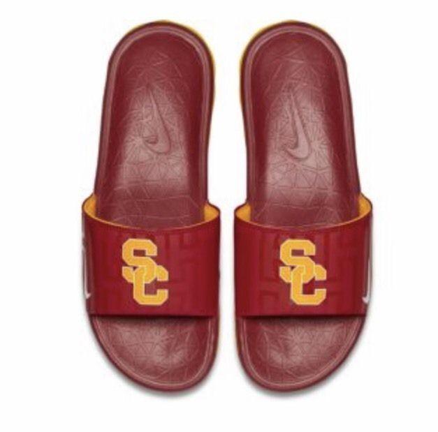 Nike Men's Benassi Solarsoft USC College Slides    eBay