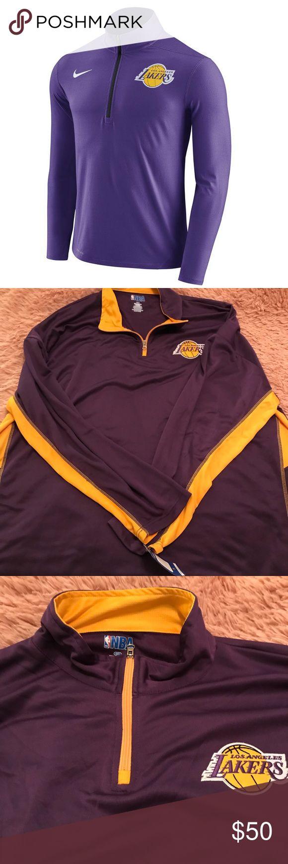 LAKERS MENS PULLOVER ZIP | Pullover men, Nba jacket ...
